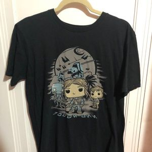 POP TEES MENS STAR WARS TSHIRT MEDIUM